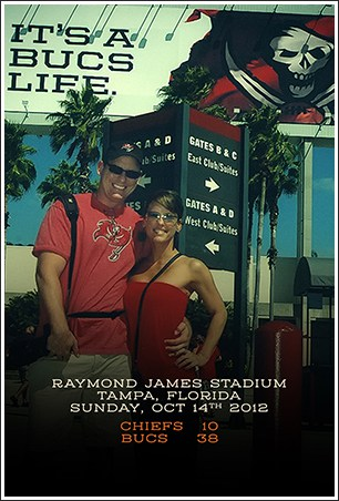 With Lindsay – Tampa Bay 2012